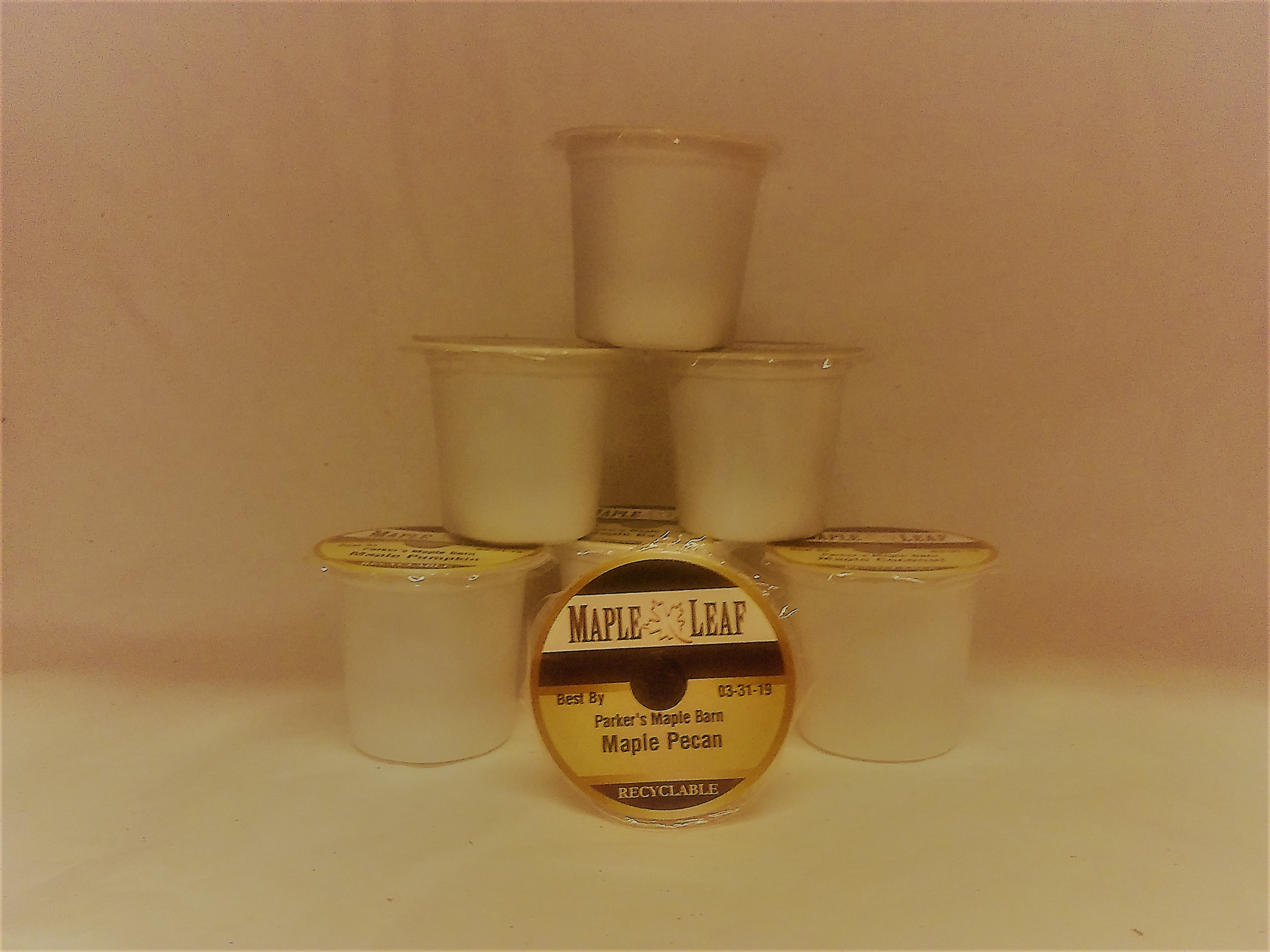 Single serving K Kup Maple Pecan