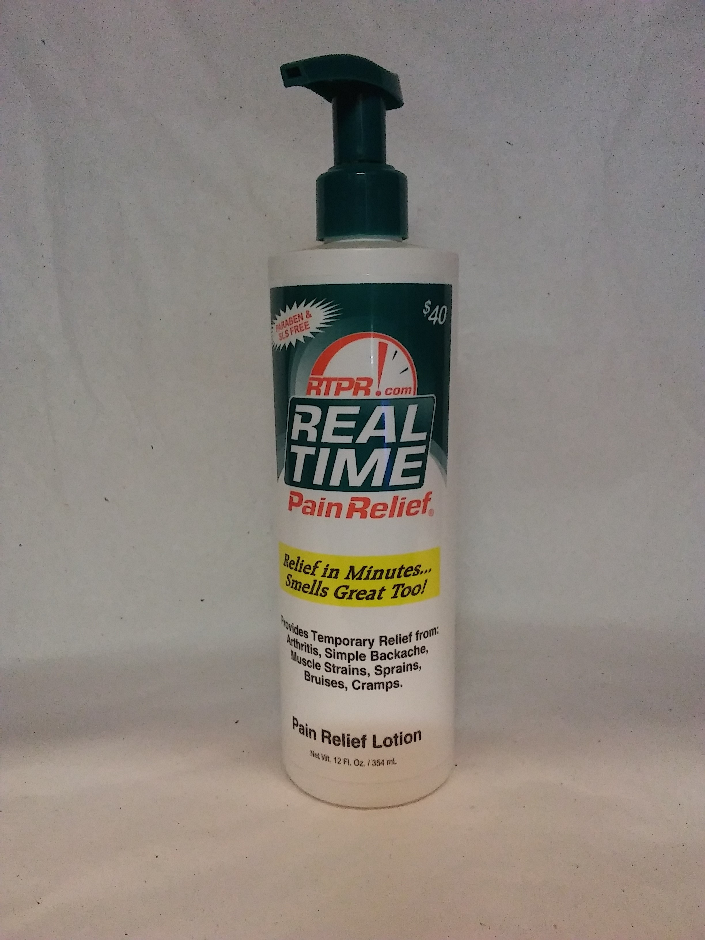 Real Time Pain Relief 12 Fl oz Pump
